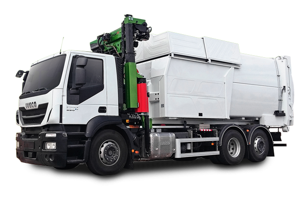 COMPACTOR WITH DEMOUNTABLE SYSTEM