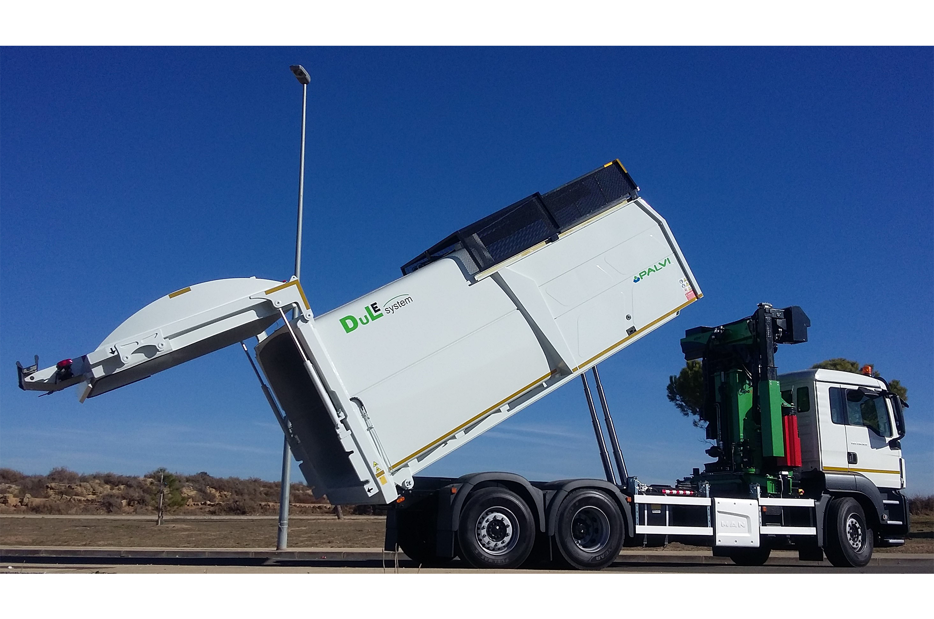 COMPACTOR TIPPING FIXED SYSTEM